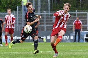 Steven Lindener im Spiel gegen die U23 vom HSV. Foto: Mundt