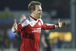 Jan Lüneburg ist der beste Torschütze des FCE. Foto: Mundt