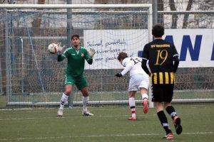FCSP-Akteur Marvin Kehl erzielte seinen zweiten Treffer mit dem Kopf. Foto: Niklas Heiden